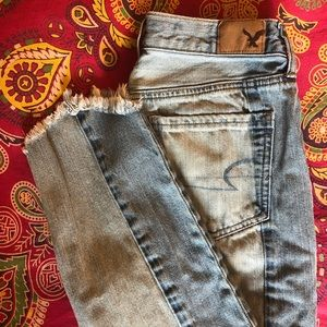 Two Toned American Eagle Jeans